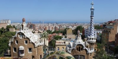 A photo of Barcelona's architectural marvels.