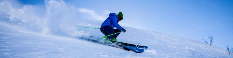 Skiing in the winter in Sydney.